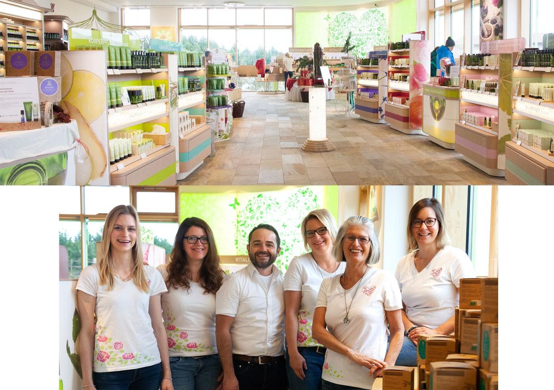 The PRIMAVEA flagship store team