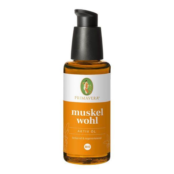 Muskelwohl Aktiv Öl bio