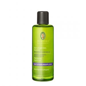 Beruhigendes Badeöl Bio Lavendel & Bio Vanille