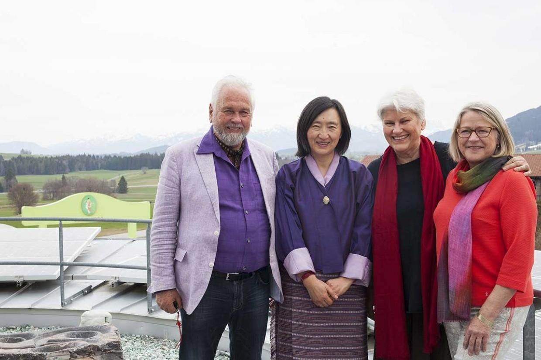 Botschafterin aus Bhutan bei PRIMAVERA