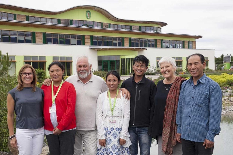 Know-How-Transfer Naturkosmetik-Herstellung Anbaupartner Bio-Bhutan