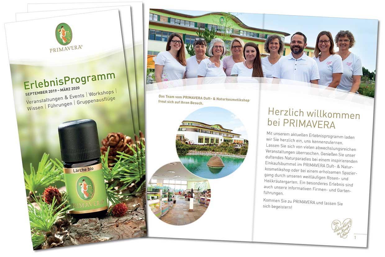PRIMAVERA ErlebnisProgramm September 2019 – März 2020