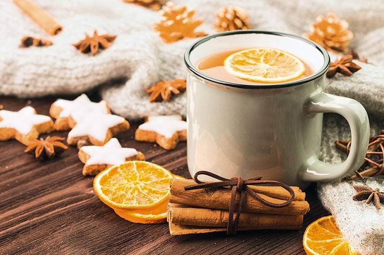 Duftende Aroma Vitalküche in der Weihnachtszeit