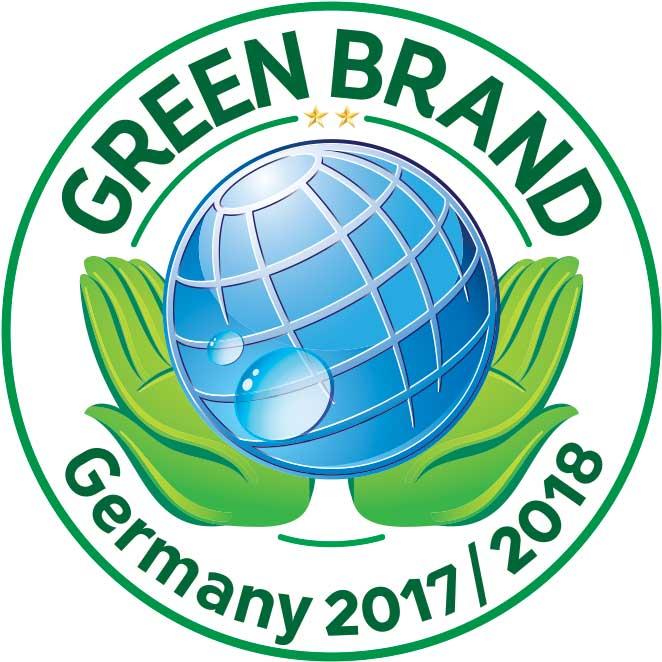 Green Brand Auszeichnung 2017/2018