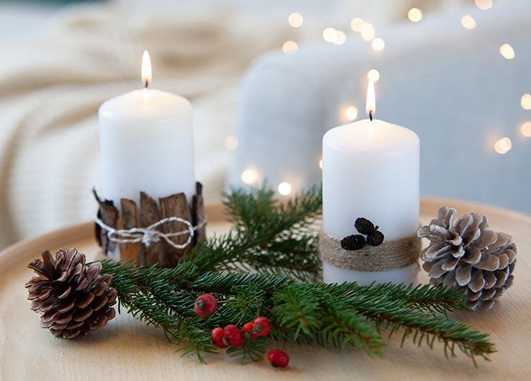 Kerze selbstgestalten