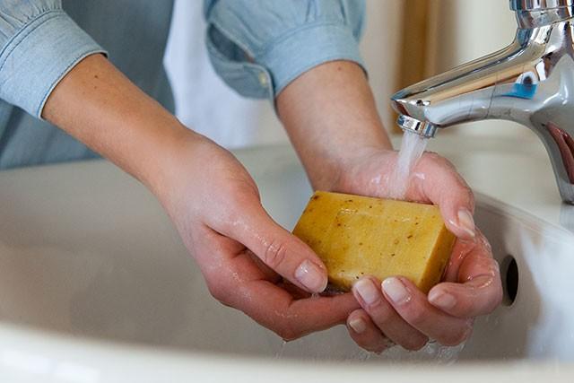 Schritt 1: Hände waschen