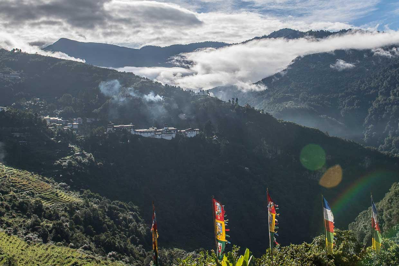 Berge in Bhutan