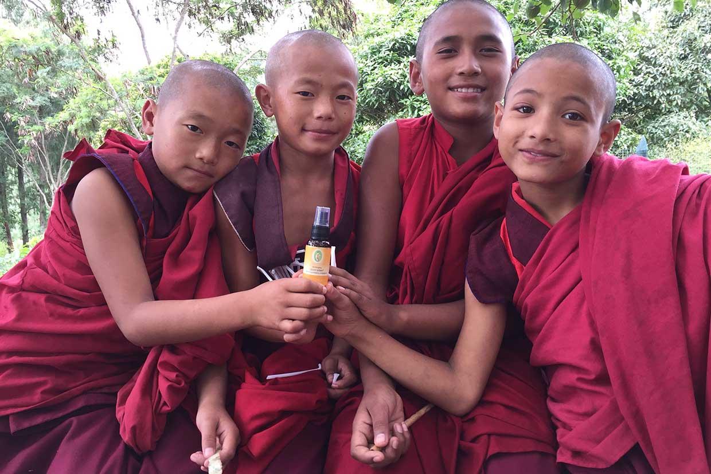 Kinder in Bhutan