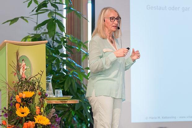 Vortrag bei der Ausbildung zur Aromaexpertin