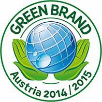 GREEN BRANDS AUSTRIA 2014/2015