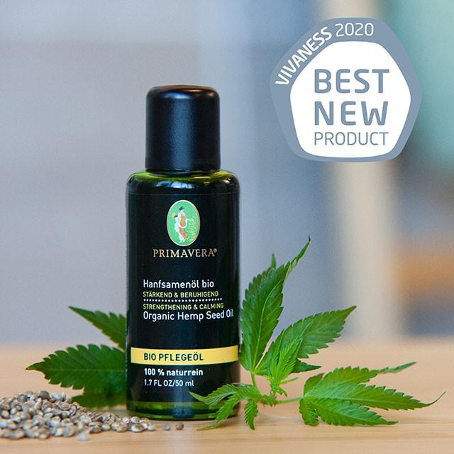VIVANESS bestes Produkt Care Hanfsamenöl bio