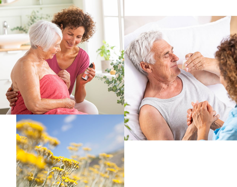 Anwendungen der Aromapflege