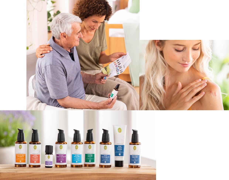 Aromapflege-Produkte für Vertrauen und Sicherheit