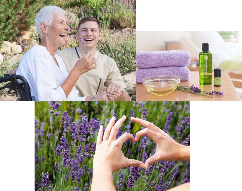 Wirkungsweisen der Aromapflege